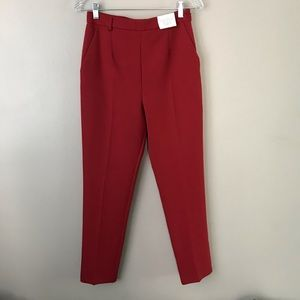 ☀️ Topshop tailored High Waist Cigarette Trousers